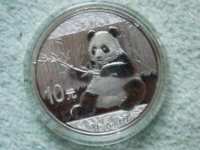 2017 Chinese Silver Panda 10 Yuan 30 gram BU