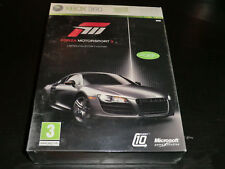 FORZA MOTORSPORT 3 LIMITED COLLECTORS EDITION  XBOX 360  NEW  SEALED PAL
