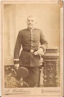 CAB photo Soldat - Strassburg 1890er