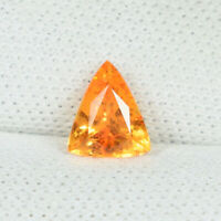 0.42Cts Best Luster Fanta Orange Natural (Mandarin) Spessatite Garnet Fancy..!!!