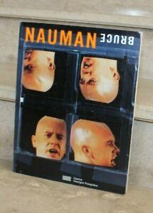 BRUCE NAUMAN -  image-texte 1966-1996. centre Georges Pompidou, 1997