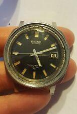 RARE 1970s Seiko 7005-8052 men's  watch needing bezel insert.