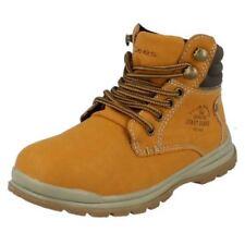 Calzado de niño Botas, botines de color principal marrón sintético