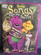 BARNEY SONGS FROM THE PARK DVD CHILDREN'S MOVIE 45 MINUTES (AGES 1-8)