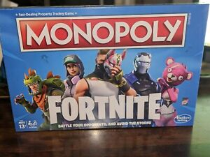 Fortnite Monopoly Limited Edition Board Game Hasbro Fortnight