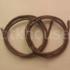 2 x Artificial Wooden Vine (M) - 6' Flexible Reptile Terrarium Jungle Vine (BR1)