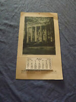 VINTAGE 1936 HART KNEELAND POINDEXTER REAL ESTATE BROKERS HARTFORD CT CALENDAR