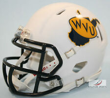 WEST VIRGINIA MOUNTAINEERS (THROWBACK) Riddell Speed Mini Helmet