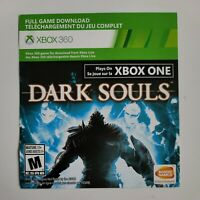Dark Souls - Digital Version Plays on XBOX 360, ONE, Series X|S