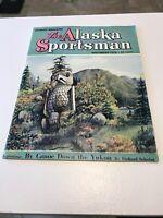 vintage November 1953 Alaska Sportsman magazine, great cover art, Great