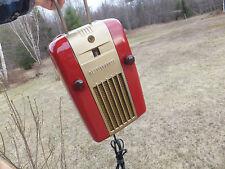 Vintage Small Westinghouse Refrigerator Case AM Tube Little Jewel Radio