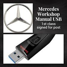 Mercedes V Class - VITO VIANO workshop service / repair manual USB 1996 - 2016