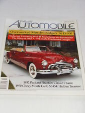 Collectible Automobile Magazine Month Year Vol 14 - No 3