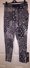 George Trousers Black Ivory and Red Size 12