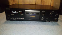 Sony TC-RX311 Stereo Cassette Deck. {{{REFURBISHED}}}