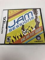 Jam Sessions (Nintendo DS, 2007) Factory Sealed New In Plastic