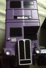 Harry Potter Knight Bus Collector Figure Carry Case Rare Includes Conductor Stan