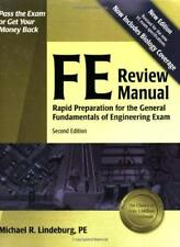 FE Review Manual - by Lindeburg