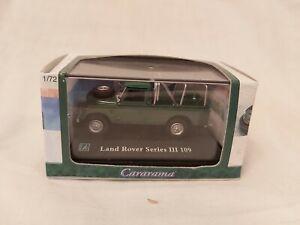 Cararama 1/72 Scale Land Rover Series III 109 green