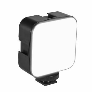 Andoer Mini LED Video Light Panel Fill-in Lamp 6500K for Canon Nikon DSLR H2O4