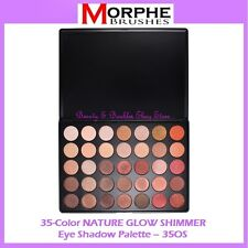 NEW Morphe Brushes 35 SHIMMER NATURE GLOW Eye Shadow Palette 35OS FREE SHIPPING