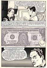 NICK CARTER A SAIGON PLANCHE ORIGINALE AREDIT PAGE 95