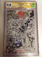 CGC 9.8 SS Age of Ultron #1 Variant signed Vision Paul Bettany Avengers CA COA