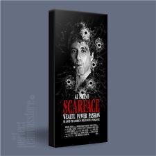 Scarface Tony Montana Clásico Pacino icónica lona Imagen de Impresión de Arte artwilliams