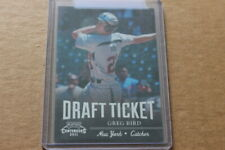 2011 Playoff Contenders Draft Tickets Crystal 23/299 Greg Bird New York Yankees