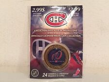 MONTREAL CANADIENS 100 YEAR ANNIVERSARY MEDALLION COIN NHL 1909-2009 2009-2010!