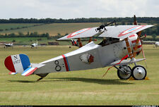 WWI  Nieuport 17  80 inch wing   1/4 Scale RC Model AIrplane Printed Plans
