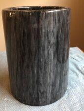 New listing Marble Wine Bottle Cooler Chiller Dark Gray Barware, home decor