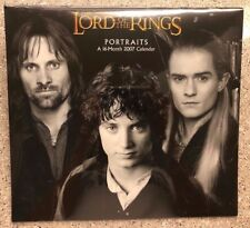 2007 The Lord of The Rings Portraits 16 Month Calendar New Black & White