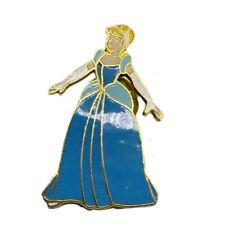 Vtg Disney Cinderella Pin Taiwan Brooch Trading Princess Brooch