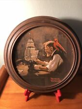 """New ListingVintage Norman Rockwell Collector Plate Limited Edition """"The Ship Builder"""" 1980"""