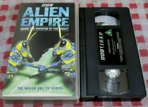 Alien Empire - Inside The Kingdom Of The Insect - BBC VHS video
