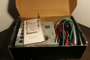 EmerGen Manual Transfer Switch #6-5000 for 5000W Generators 20A 250V Interruptor