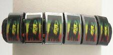 Fashion Reggae Bob Marley Synthetic Leather Surfer Bracelet / Bangle Adjustable