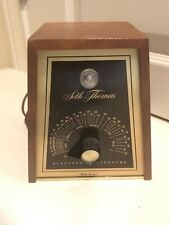 Seth Thomas Electronic Metronome 1106 Walnut Wood Case Usa