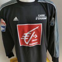 maillot de football adidas coupe de france porté N°1 vintage