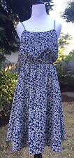 NWT J CREW SUNDRESS ITEM #A9874 Size 00 Blue Navy Oxbow $138 Dress
