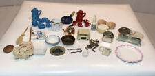 DOLLHOUSE MINIATURE MIXED LOT OF KITCHEN ITEMS