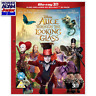 ALICE THROUGH THE LOOKING GLASS Blu-ray 3D + 2D (REGION-FREE)