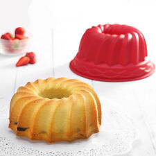 Swirl Bundt Ring Jelly Silicone Pastry Cake Mould Baking Tins Pan Bakeware Mold