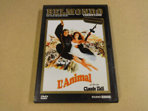 DVD / L'ANIMAL ( CLAUDE ZIDI, JEAN-PAUL BELMONDE... )