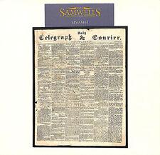MS461 1855 GB Edición Miniatura periódicos y en el extranjero (?)/Daily Telegraph