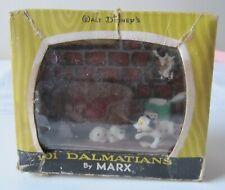 More details for vintage marx disneykins 101 dalmatians tv scenes plastic toy figure 60s spatter