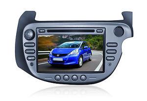 Multimedia for Honda Jazz GPS Navigation  Radio DAB .DVD Player with camera