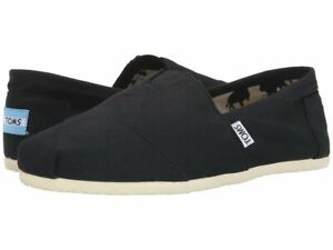 TOMS Men's Classic Canvas Slip On Shoes 100 % Original New Fast Shipping