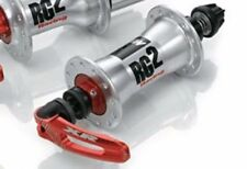 REDUCED PRICE Miche Racing Box Hubs RG2 Front 36 Hole Silver